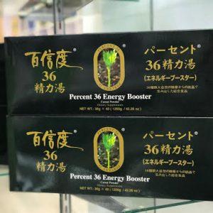 BỘT DINH DƯỠNG ASHITABA THAY THỰC PHẨM – Percent 36 Energy Booster